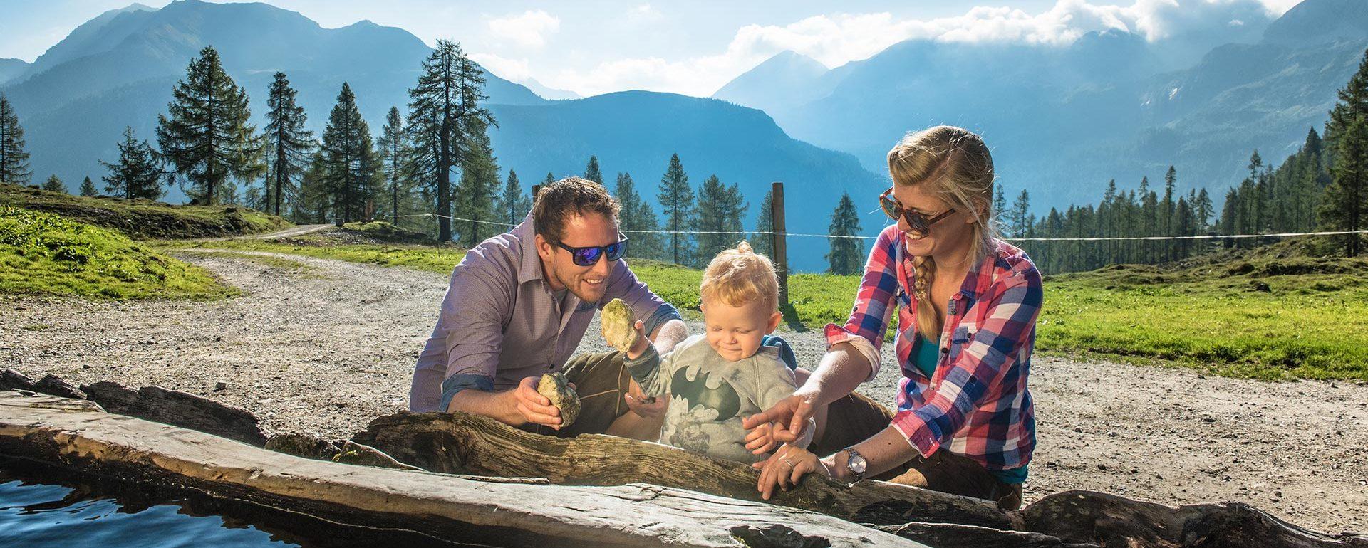 Familienurlaub in Zauchensee