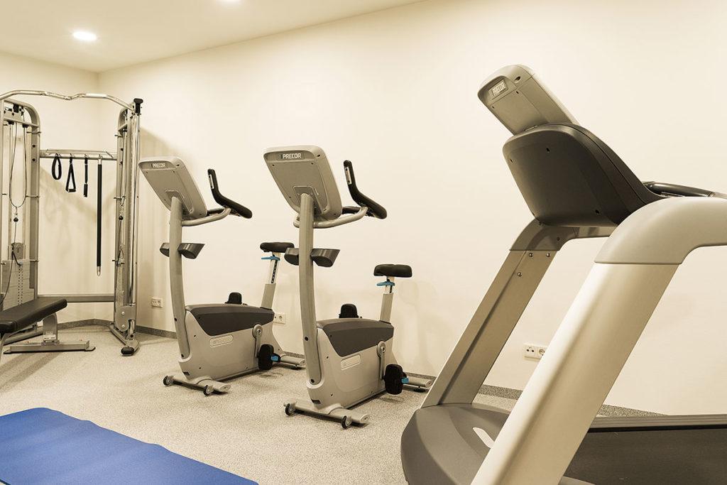 Fitnessraum - Hotel Sportwelt