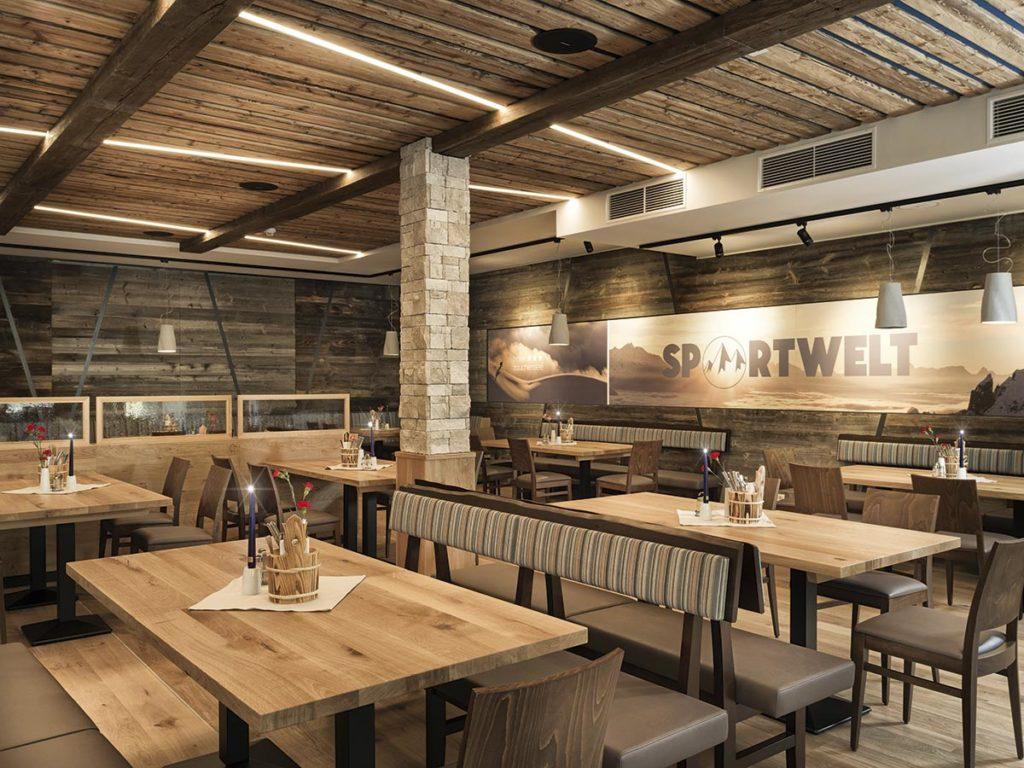 Hotelrestaurant · Hotel Sportwelt, Bildergalerie