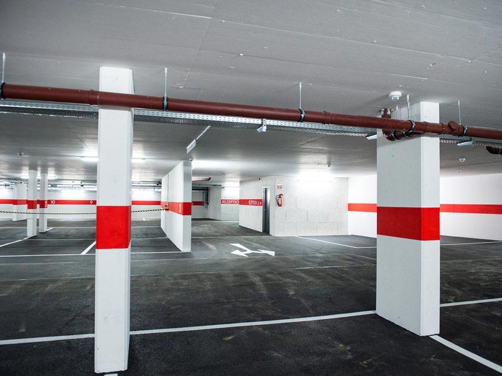 Tiefgarage · Hotel Sportwelt, Bildergalerie