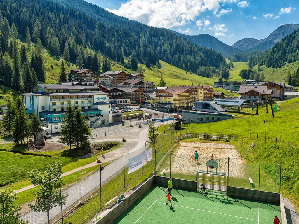 Kinderspielplätze · Hotel Sportwelt, Bildergalerie