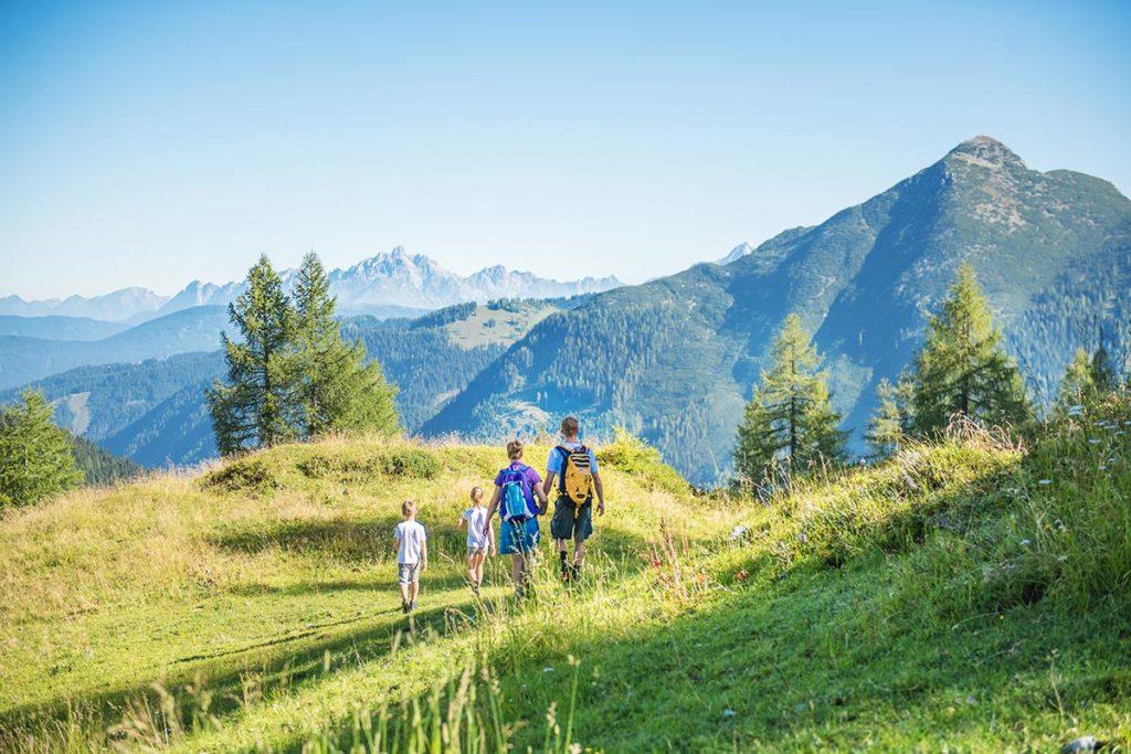 Sommer-, Wander & Familienurlaub in Altenmarkt-Zauchensee