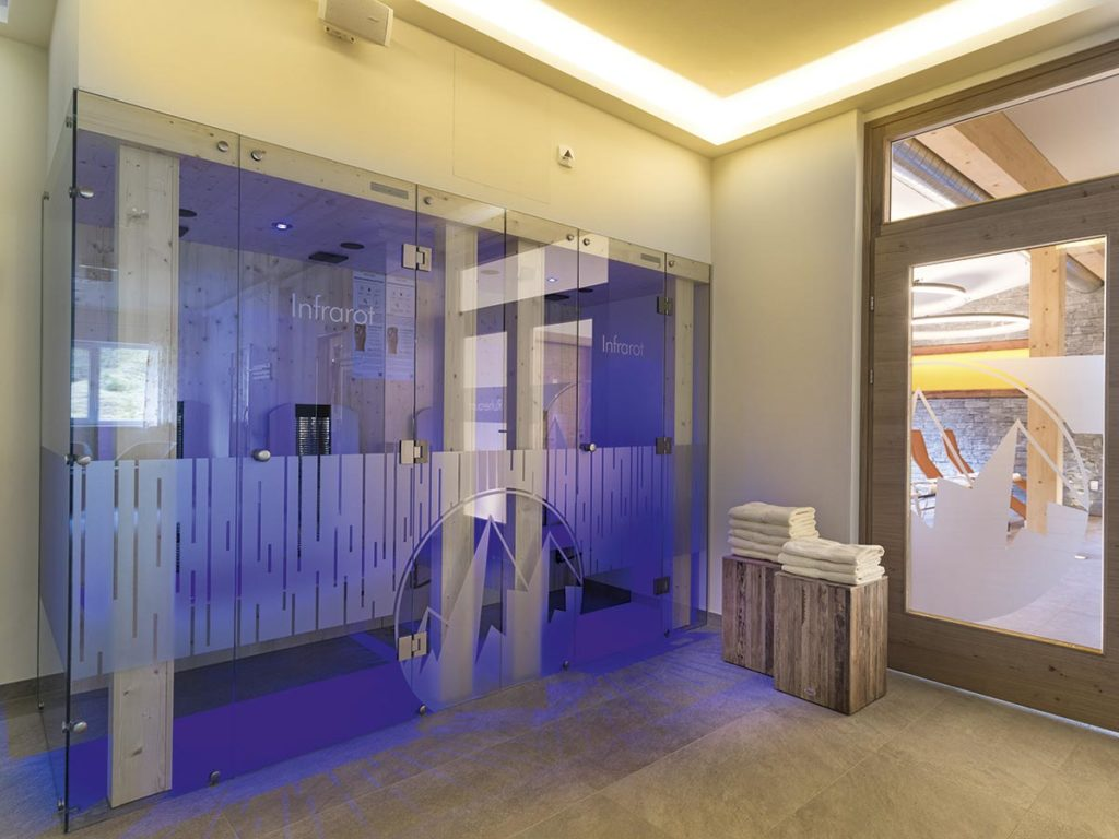 Infrafrotkabine · Hotel Sportwelt, Bildergalerie
