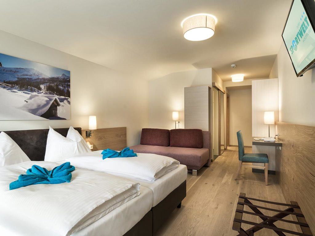 Zimmer · Hotel Sportwelt, Bildergalerie