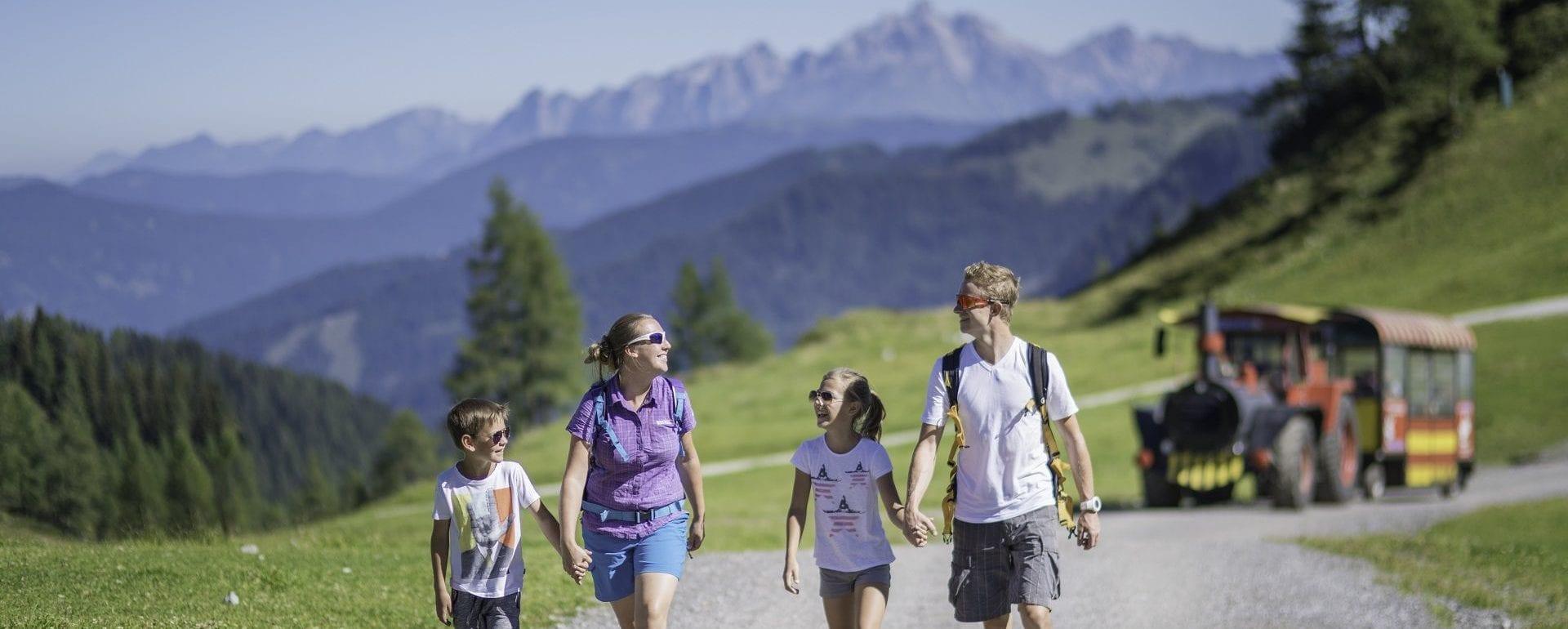 Familien Wandern Urlaub Salzburger Land