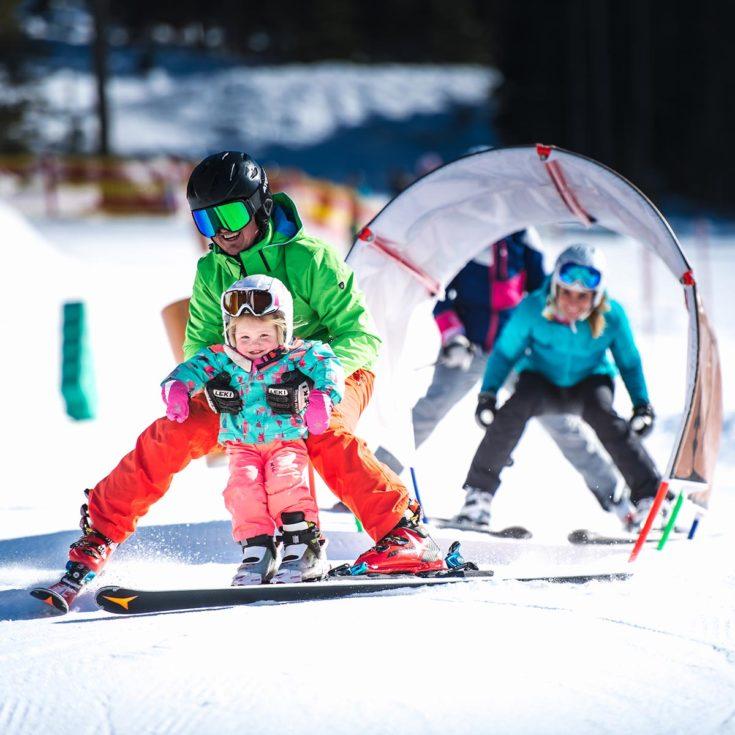 Skifahren im Familienurlaub in Zauchensee