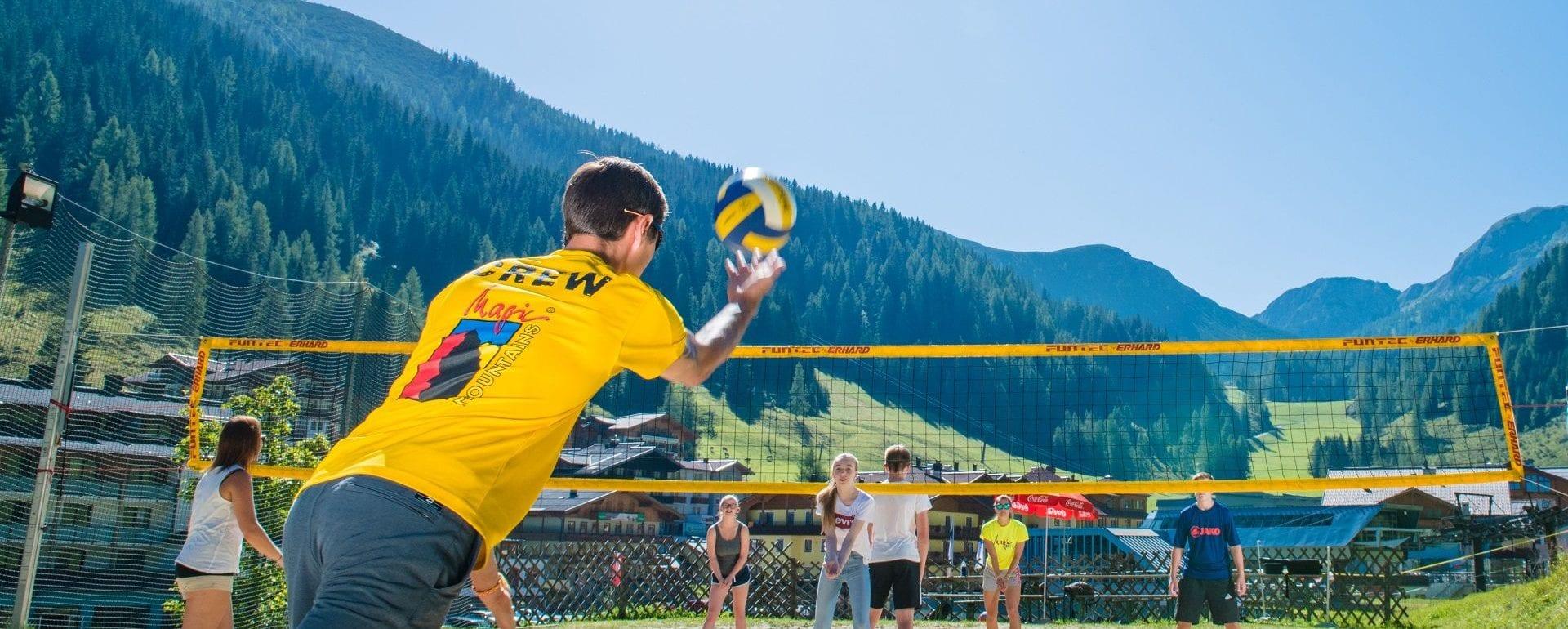 Magic Mountains Familienurlaub Berge Hotel Sportwelt
