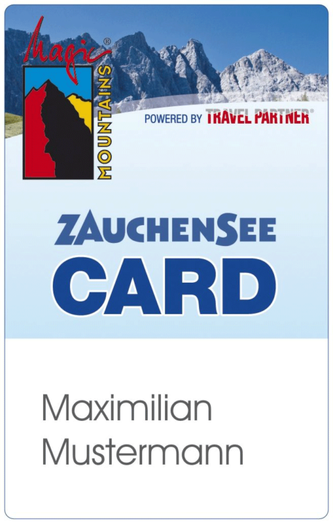 Magic Mountains Card Zauchensee