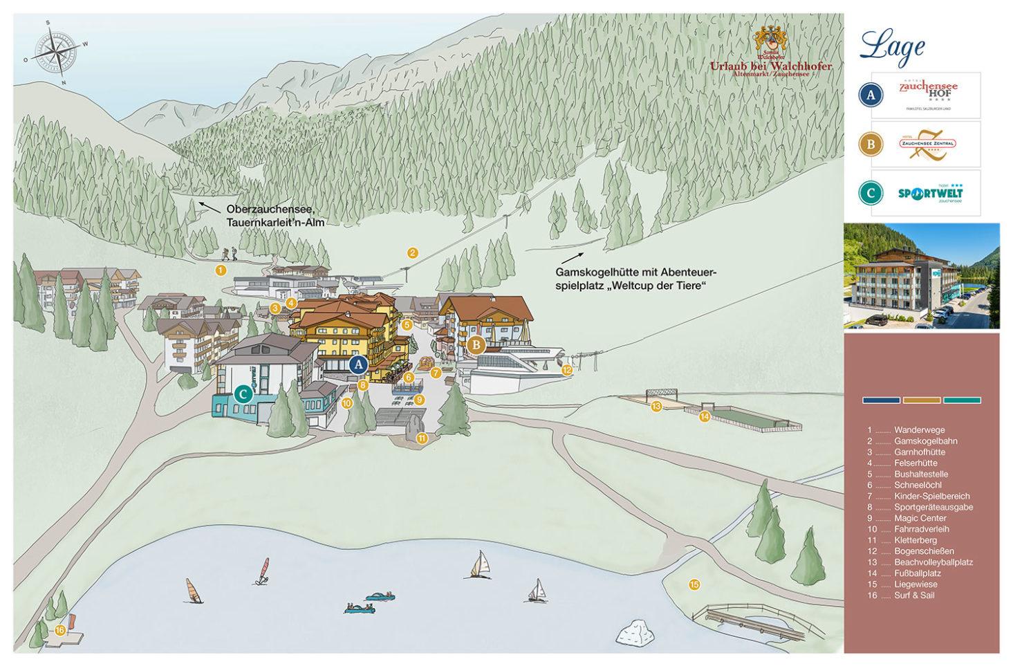 Hotel Sportwelt - Toplage in Zauchensee